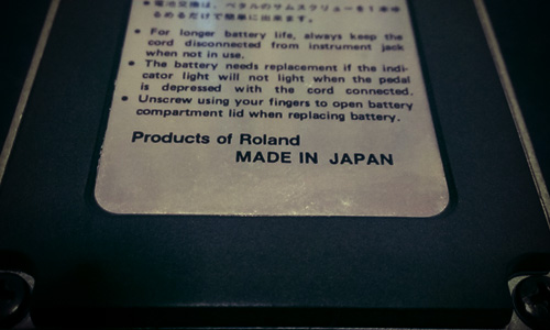 BOSS DS-2 made in Japan 1988