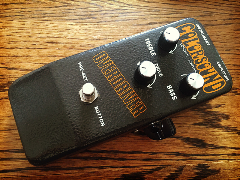 Colorsound Overdriver Reissue