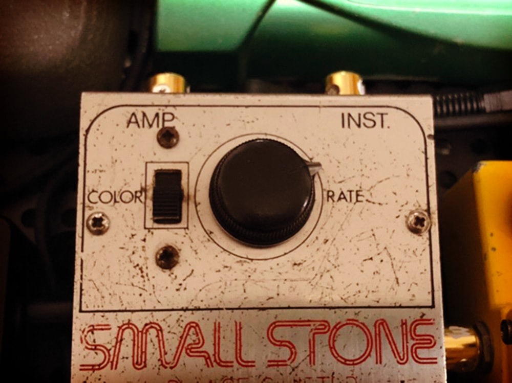 Electro-Harmonix Small Stone V1 RATE & Color