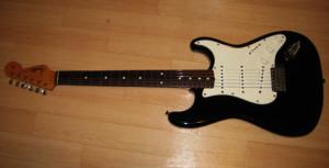 Fender Japan Stratcaster JV Serial