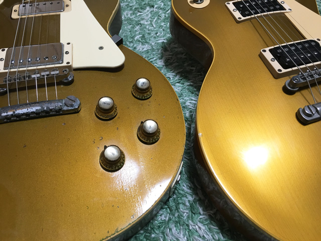 Gibson-Les-Paul-Deluxe-1969s-and-les-paul-classic