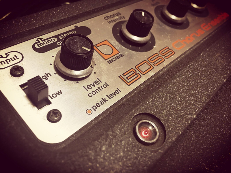 BOSS CE-1 Chorus Ensemble Preamp