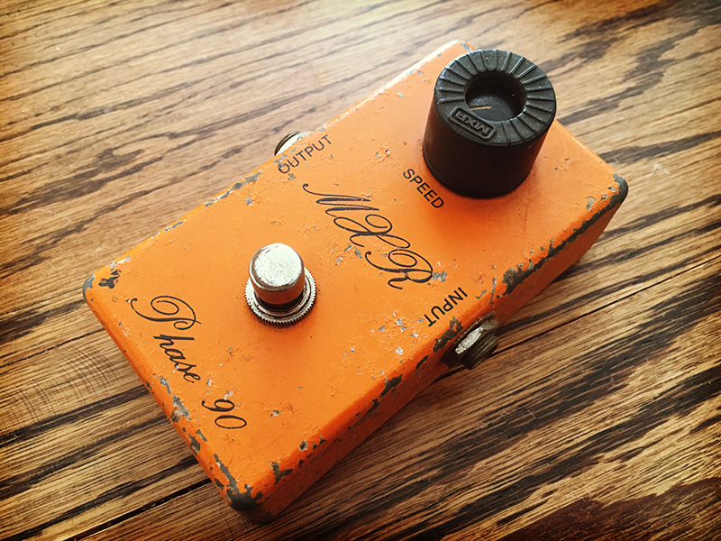 MXR Phase90 1974 BUD BOX