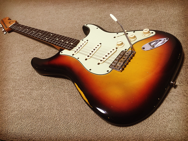 2006's Fender C/S 1961 Stratcaster Relic