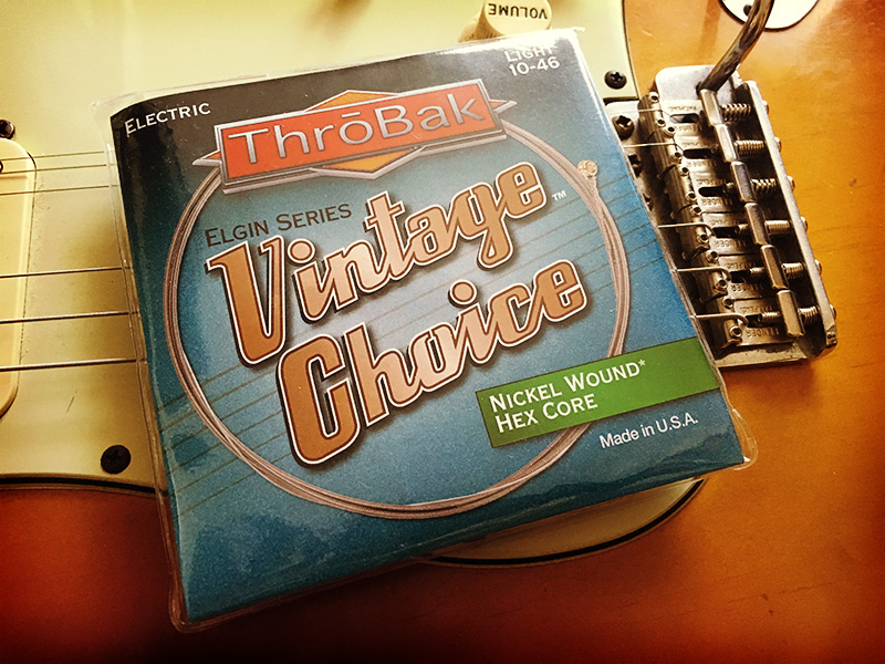 Throbak Electronics Vintage Choice Wound Nickel Hex Core