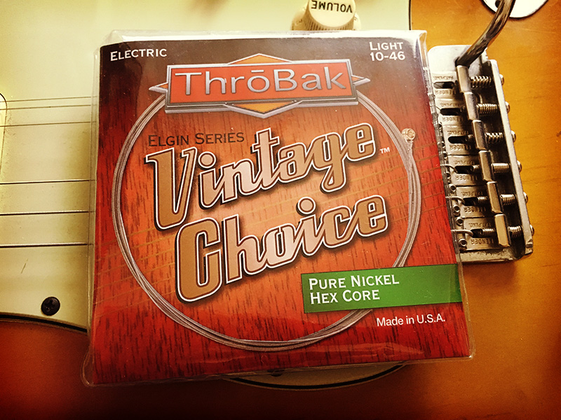 Throbak Electronics Vintage Choice Pure Nickel Hex Core
